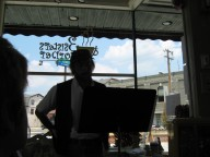Cedric-Reads Three Sisters Cafe Philly Pa circa 2007
