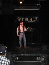 Bowery Poetry Club NYC 12/18/11