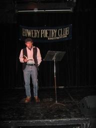 Bowery Poetry Club 12/18/2011