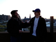 Father Son Brooklyn Roof 1