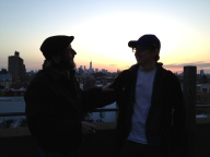 Father Son Brookyln Roof 2