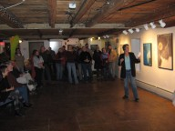 Artist Carol Vossler Gallery Talk Bluseed 11/11/11