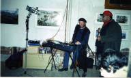Buffalo reading with Bob Holland 2005
