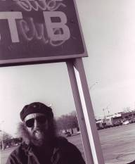Beat Poet Shea Stadium Parking lot circa mid 90s