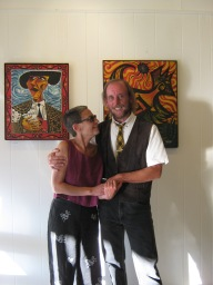 Yoko-and-me-1/Rothman Gallery VJQ Exhib/reading 7/11.