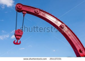 stock-photo-a-red-industrial-hook-suspended-by-two-wires-at-the-end-of-a-boom-251137231